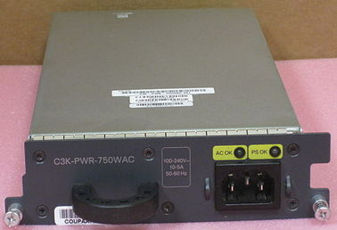 China Stromversorgungs-Ciscos C3K-PWR-750WAC des Server-750W Ersatzkatalysator 3750-E/3560-E/RPS 2300 distributeur